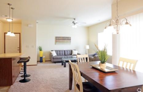 2 bedroom living space